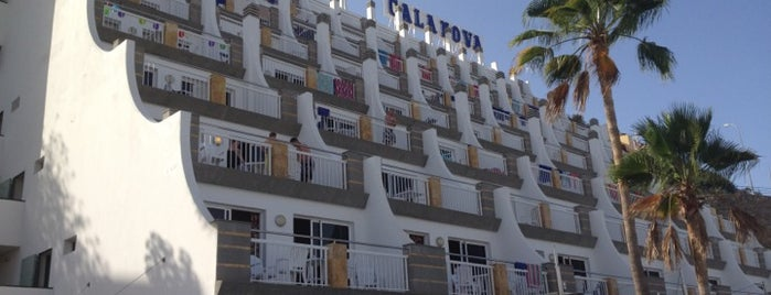 Cala Nova Hotel is one of Places we have visited on holidays.