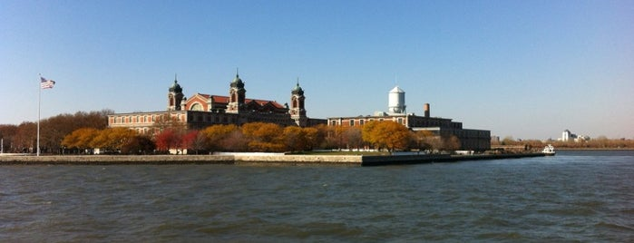 Ellis Island is one of New York City.