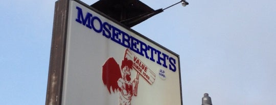 Moseberth's Fried Chicken is one of Diners, Drive-Ins, and Dives- Part 2.