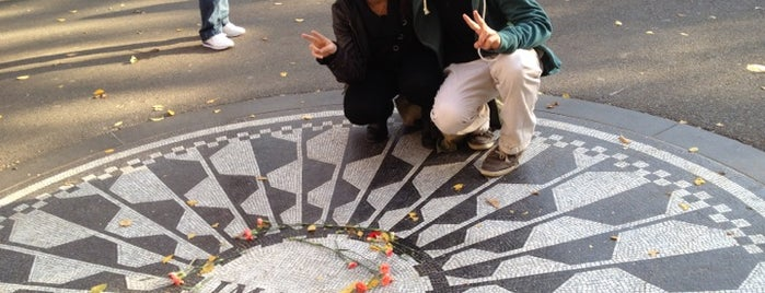 Strawberry Fields is one of Gray Line New York's Uptown Loop.
