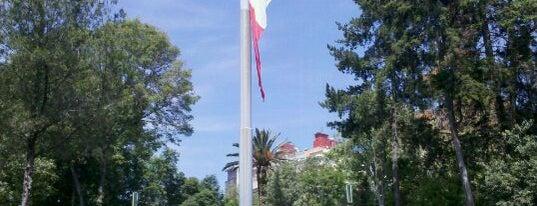 Parque Luis G. Urbina (Parque Hundido) is one of ¡Cui Cui ha estado aquí!.