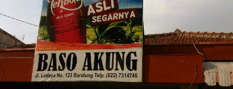 Mie Baso Akung is one of Bandung Food Foursquare Directory.