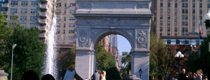 Washington Square Park is one of Famous ones..