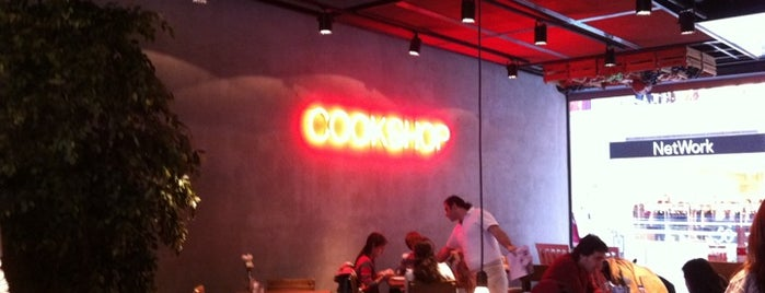 CookShop is one of My favourites for Cafes & Restaurants.