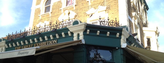The Great Exhibition is one of Best London Pubs.