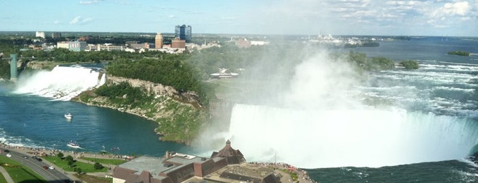 Niagara Falls Marriott Fallsview Hotel & Spa is one of Top 10 Hotels in Niagara Falls (ranked by guests).
