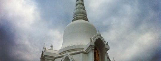 Kanchanapisek Pagoda is one of Holy Places in Thailand that I've checked in!!.