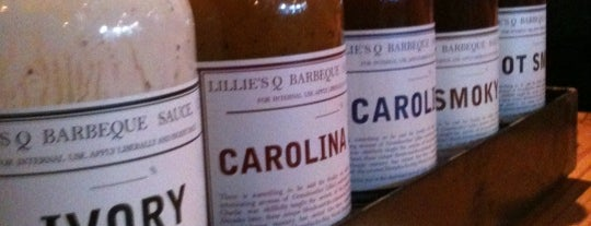 Lillie's Q is one of Six spots for barbecue.