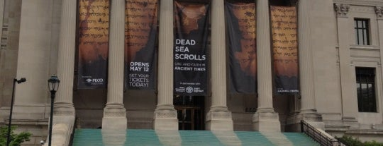 The Franklin Institute is one of Dead Sea Scrolls: Life and Faith in Ancient Times.