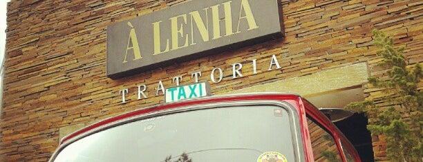 À Lenha Trattoria is one of Restaurantes.