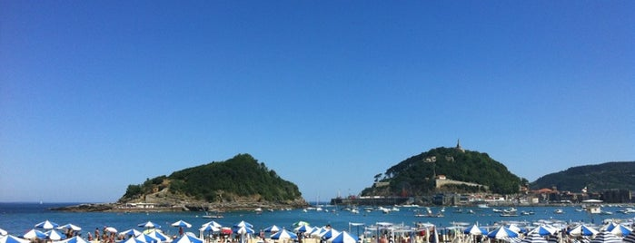 Playa de Ondarreta is one of Best places in Euskadi.