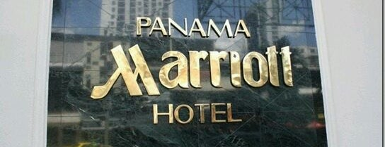 Panama Marriott Hotel is one of Mis hoteles favoritos.