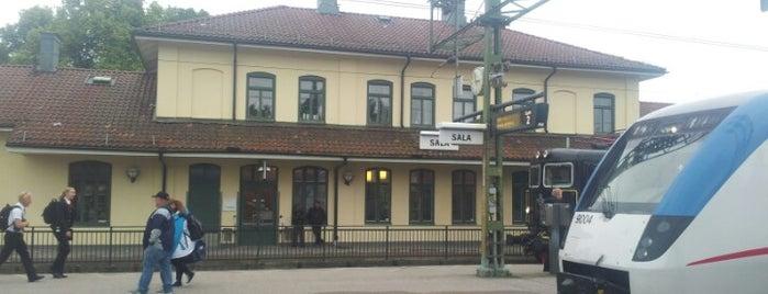 Sala Station is one of Tågstationer - Sverige.