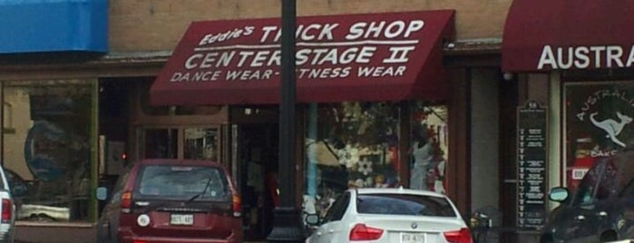 Eddie's Trick Shop & Novelty is one of The Chad.
