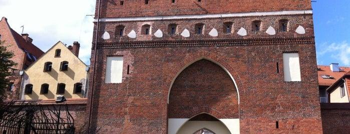Brama Klasztorna is one of Torun Audio Guide.