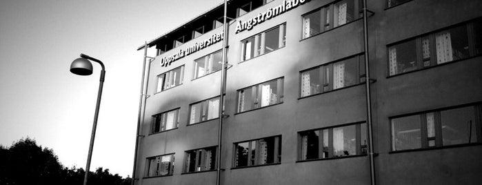 Ångströmlaboratoriet is one of Universitetsbyggnader Uppsala.