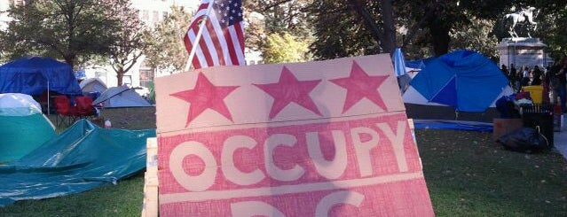 Occupy K St. is one of ♡DC.