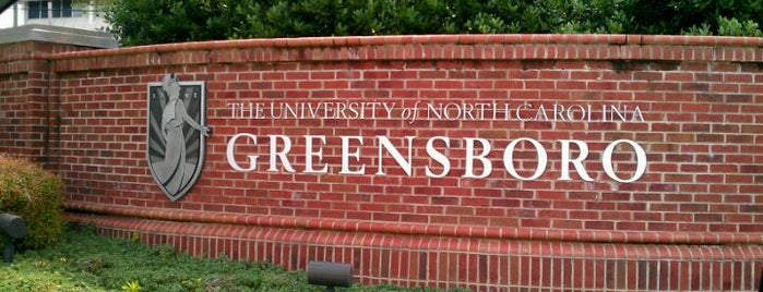 University of North Carolina at Greensboro is one of College.