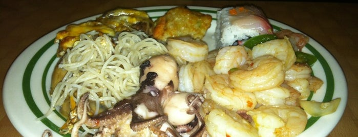 Grand China Buffet is one of Favorite affordable date spots.