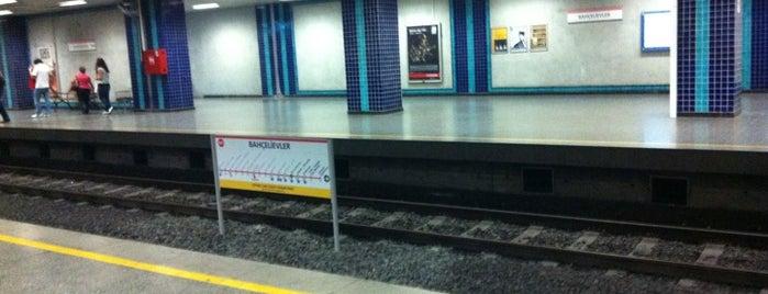 Bahçelievler Metro İstasyonu is one of M1A / M1B - Metro İstasyonları.
