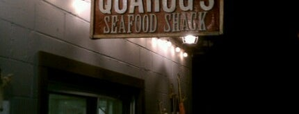 Quahog's Seafood Shack is one of Diners, Drive-Ins, and Dives- Part 2.