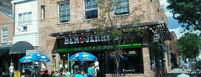 Ben & Jerry's is one of Burlington, Vermont.