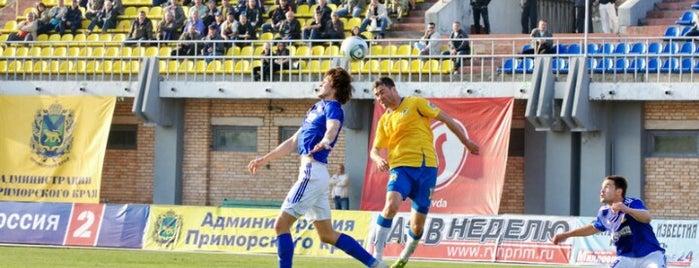 Стадион «Динамо» is one of Must-visit in Vladivostok, Russia.
