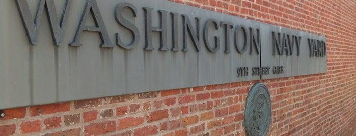 Washington Navy Yard is one of 2 do list # 2.