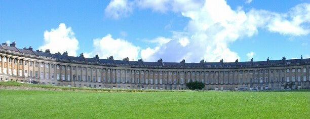 The Royal Crescent is one of Summer in London/été à Londres.