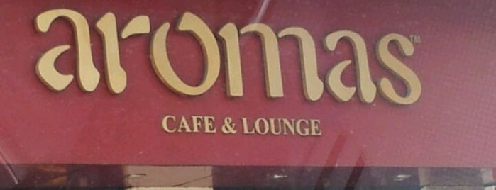 Aromas Cafe is one of Cafés.
