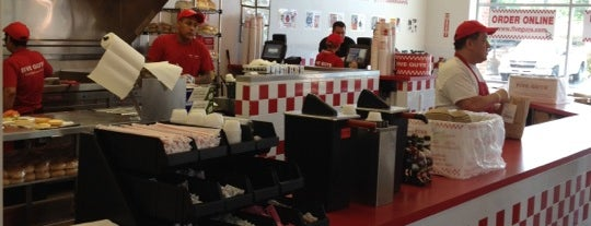 Five Guys is one of The 15 Best Places for Burgers in Indianapolis.