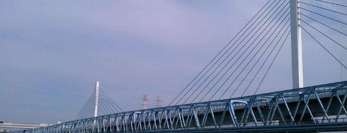 清砂大橋 is one of サイクリング.