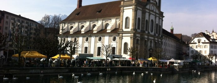 Rathaussteg is one of Discover Lucerne.