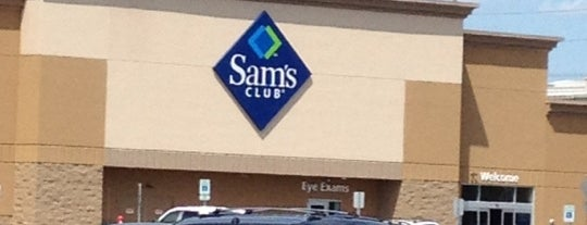 Sam's Club is one of AT&T Wi-Fi Hot Spots- Sam's Club #2.