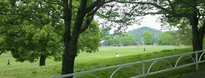 中部台運動公園 is one of 日本の都市公園100選.