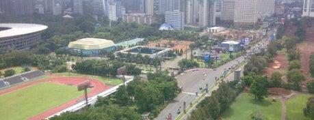 Senayan Areas: My Playground, Workplace and Home