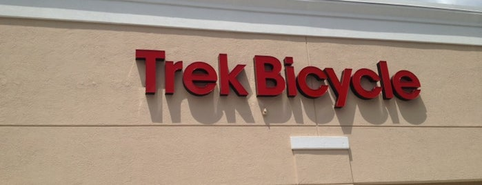 Trek Bicycle is one of Bicycle-Friendly & Local Businesses in Broward.