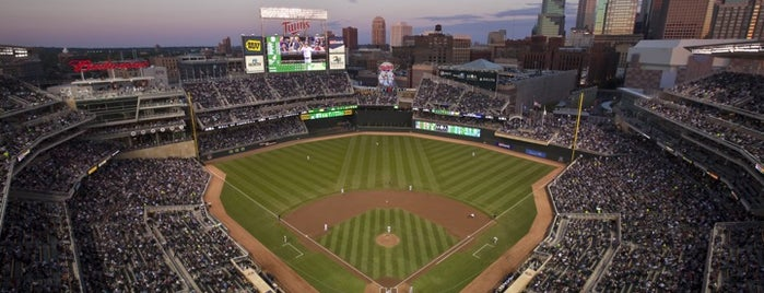 Target Field is one of Sports Venues I've Worked At.