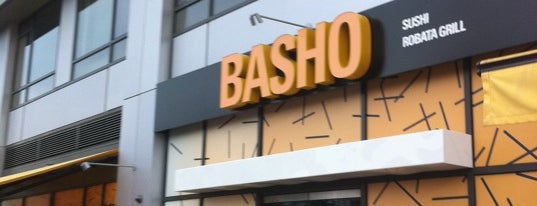 Basho Japanese Brasserie is one of Lunch, Anyone?.