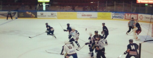 Trio Areena is one of Junior icehockey arenas.