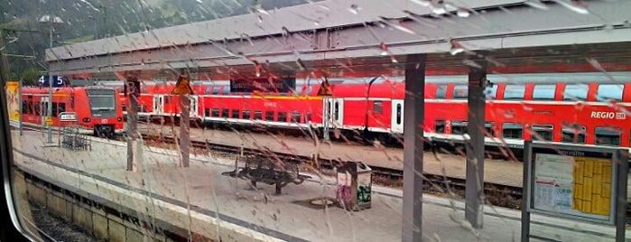 Bahnhof Garmisch-Partenkirchen is one of DB ICE-Bahnhöfe.