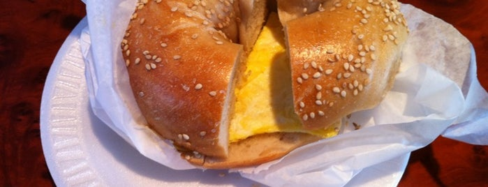 Bagel Bob's on York is one of NYC's Best Bagel Shops.