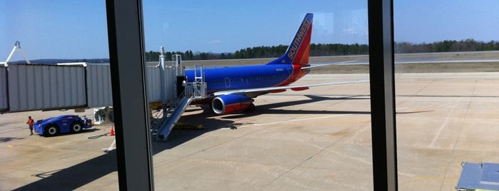 Greenville-Spartanburg International Airport is one of World Airports.