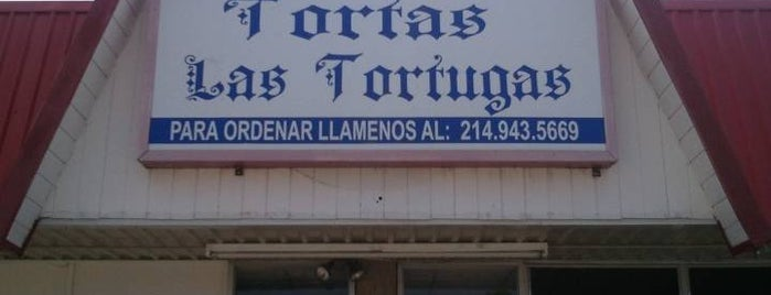 Tortas Las Tortugas is one of to try in Dallas.