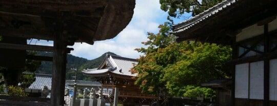 一カ山 毘盧舎那院 仏木寺 (第42番札所) is one of 四国八十八ヶ所霊場 88 temples in Shikoku.