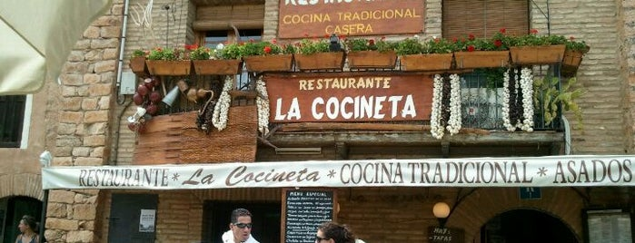 Restaurante La Cocineta is one of Comidos PENINSULA.