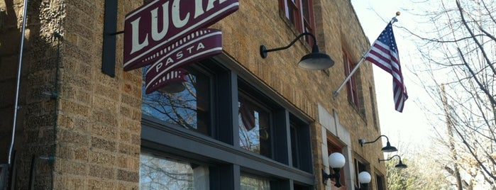 Lucia is one of FOOD in Dallas-Ft Worth Metroplex.