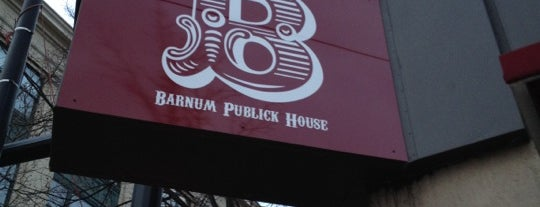 Barnum Publick House is one of Must-visit food in Bridgeport.