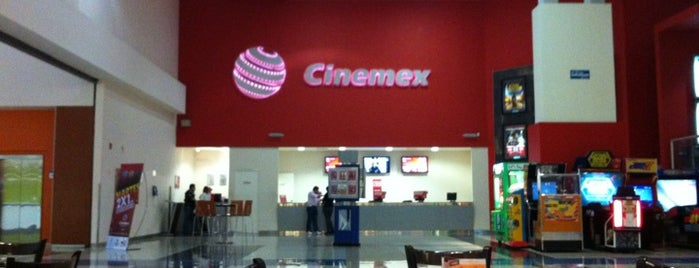 Cinemex is one of Sitios 2016.