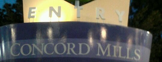 Concord Mills is one of Footprints in charlotte.